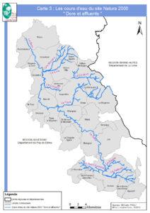 Le cours d'eau