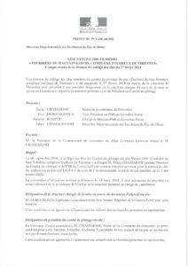 Compte-rendu COPIL 26 février 2014