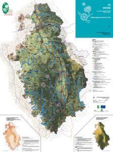 Carte Schéma paysager du Livradois-Forez du Livre 3