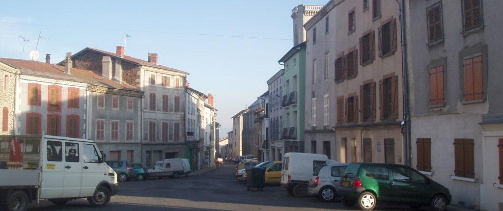 Arlanc - rue centrale