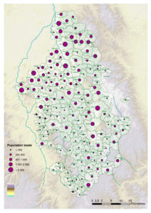 Carte de la population