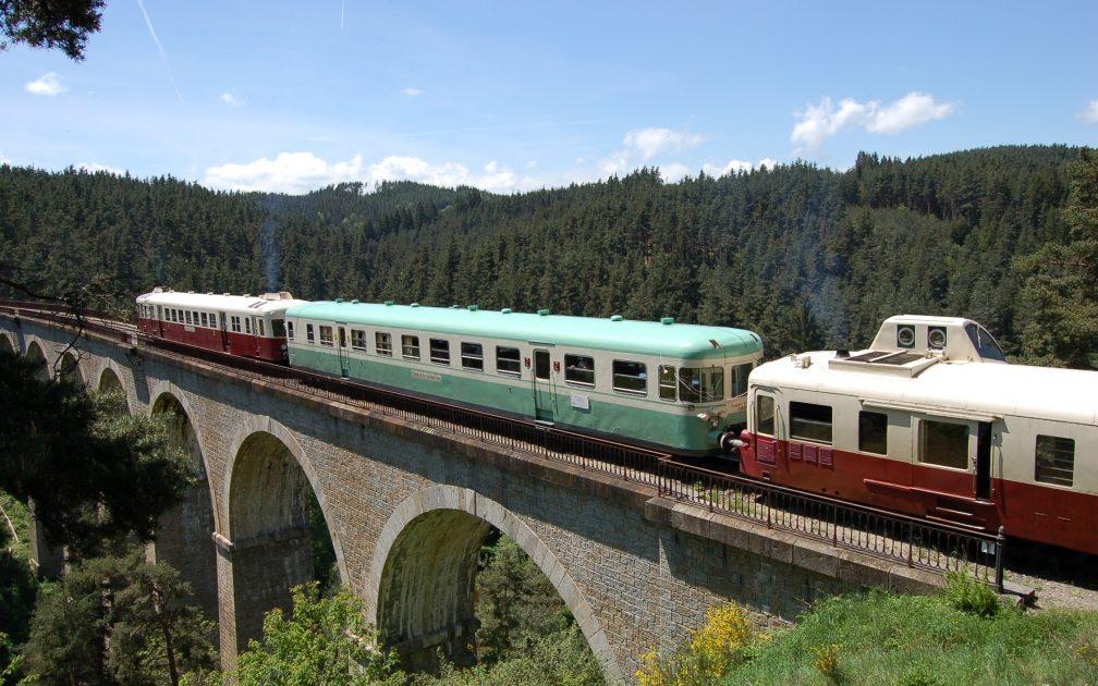Sur le viaduc de Pontempeyrat