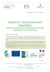 Rapport 3 : Orientations stratégiques - Projet DERSELf