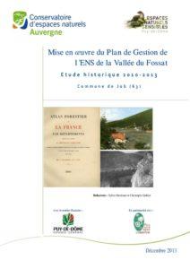 Recherches historiques - CEN - 2011