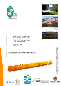 Evaluation environnementale du SAGE Dore