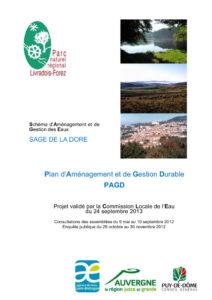 Plan d'aménagement et de gestion durable du SAGE de la Dore approuvé - 2013
