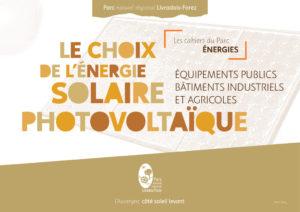 Cahier du Parc photovoltaïque
