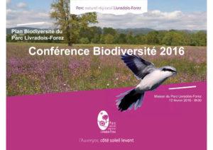 Conférence biodiversité 2016