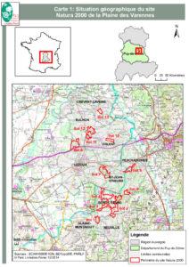 Périmètre du site Natura 2000