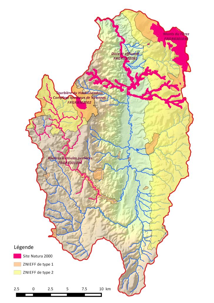 ZNIEFF et Natura 2000