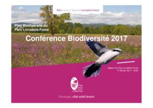 Conférence biodiversité 2017