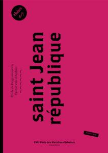 Etude centre-ville 2015 : Saint Jean République