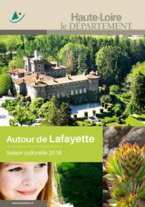 Saison culturelle autour de Lafayette 2016