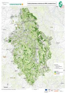 Cartographie des forêts présumées anciennes du PNR Livradois-Forez