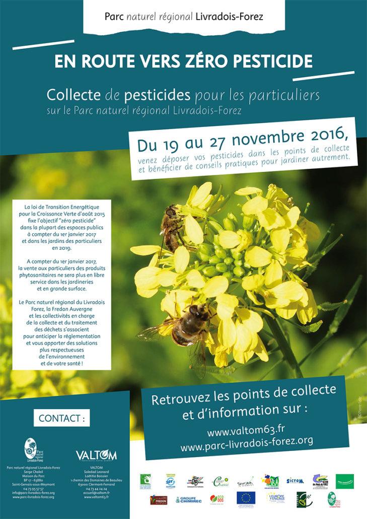 Affiche zéro pesticide