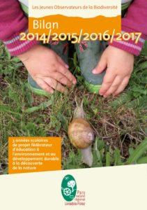 Bilan Les jeunes observateurs de la biodiversité