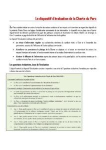 thumbnail of Le dispositif d'évaluation de la Charte