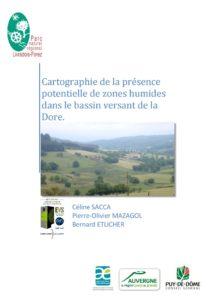Cartographie de la présence potentielle de zones humides dans le bassin versant de la Dore - 2011