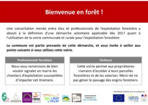 """Panneau de sensibilisation """"Nord-Ouest Haute-Loire"""" (Lien externe dans un nouvel onglet)"""