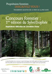 Plaquette de présentation du SylvoTrophée