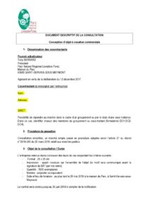 Document de consultation