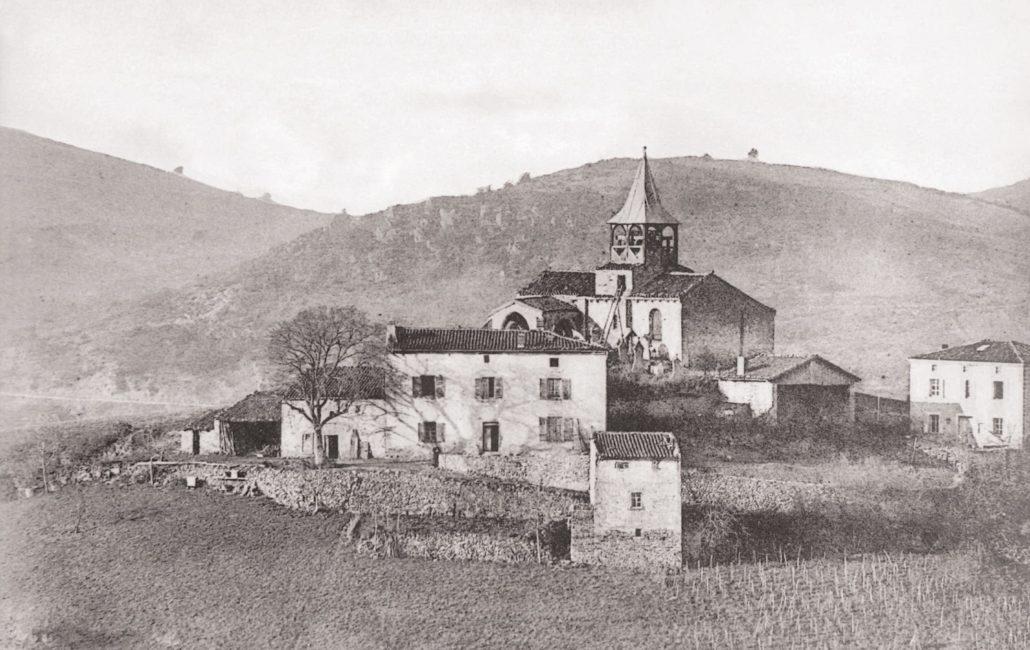 Le site historique de Saint-Jean-Saint-Gervais et ses terrasses au début du XXème siècle