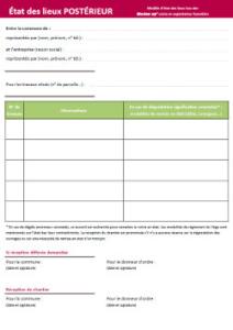 Formulaire d'état des lieux (Lien externe dans un nouvel onglet)