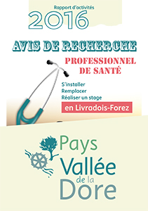 Bilan Pays Vallée de la Dore 2016