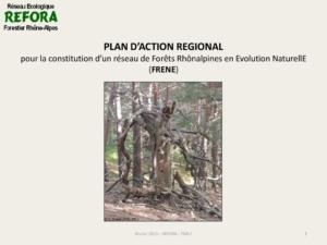 Forêts de la région Auvergne-Rhône-Alpes en Évolution Naturelle