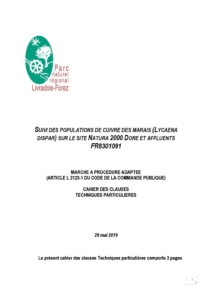 CCTP Suivi Cuivré des marais (PDF - 178Kb)