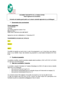Document descriptif de la consultation (PDF - 174Kb)