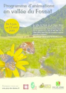 Animations Vallée du Fosat (PDF - 2Mb)