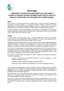 Offre stage myrtilles (PDF - 127Kb)