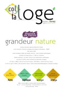 TOUS au COL de la LOGE – Festival Nordique – Dossier de presse