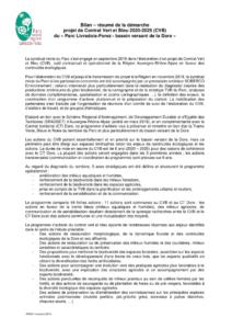 Résumé de la démarche CVB PNRLF nov 2019 (PDF - 125Kb)