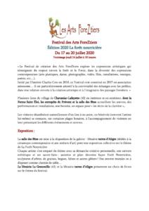 thumbnail of Programme AFZ du 17 au 20 juillet Chavaniac Lafayette 2020_V6 (1)