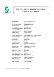 thumbnail of Liste des essences locales en Auvergne